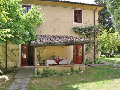 Photo for ROSINA.Private House in a Farmestate with pool & tenniscourt at 10 km from Lucca