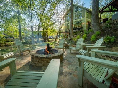 Photo for Helen's Newest & Most Luxurious -  Located on the River & Walk to Downtown Helen