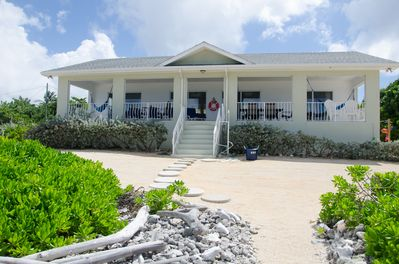 Amazing sea views from Brac Beach House Cayman Brac, Cayman Islands. Just relax!