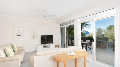 Photo for Unit 1, Albacore, 12-14 Ondine Close, Nelson Bay, NSW 2315 right on the beach front Shoal Bay Beach