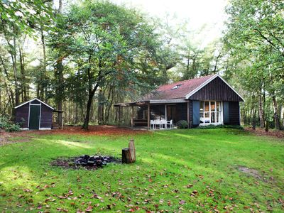Photo for Holiday home hidden in the wood, in Vechtdal, Overijssel