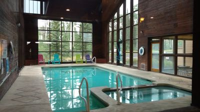The Copper Cup, charming view studio in pool building, ski-out,  sleeps 2 - 4