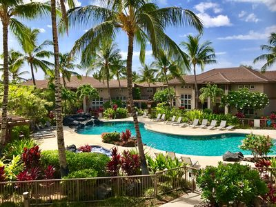 Photo for Island Oasis! Perfect Location next to pool/hot tub and steps from tennis court