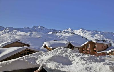 Photo for Val Thorens-Cozy Duplex 3 bedrooms ski slopes with views SI218 ****