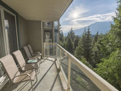 Photo for Spacious True Slopeside Ski In, Ski Out at the Woodrun Lodge - Blackcomb Slopeside 2 BR+Den  Large Family Suite (Unit 301)
