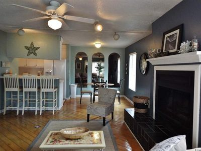 Photo for Cozy Two Bedroom located 150 yards to the beach and conveniently located