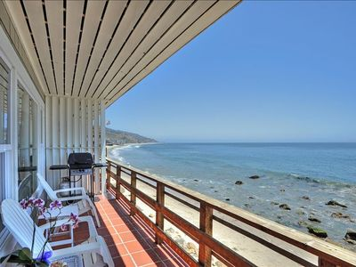Photo for Exclusive Oceanfront Cottage on Dry Sandy Carbon Beach - Seal