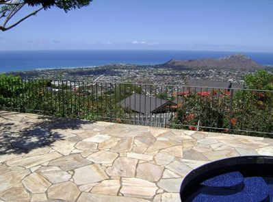 View from lanai/pool over looking Diamond Head