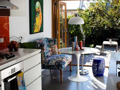 Photo for Iconic Luxury Rocks Terrace 4Br with stylish garden, available Dec/Jan