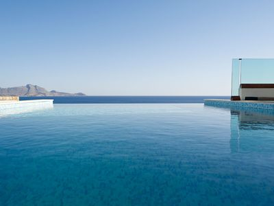 Photo for Luxury Villa Verna with infinity pool