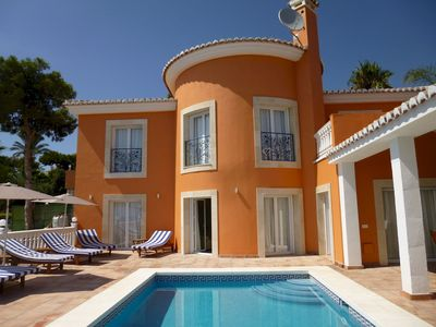 Photo for Beautiful 5 bedroom 4 bathroom villa with panoramic views and private pool