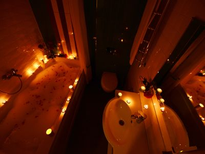 Photo for Romantic stylish designed renovated city heart apartment with HUGE bathtub  ))))