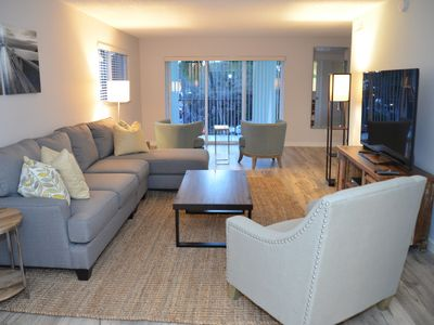 Photo for Sea Turtle - Spacious Beach View Condo That Sleeps 6-8 across from the Beach!
