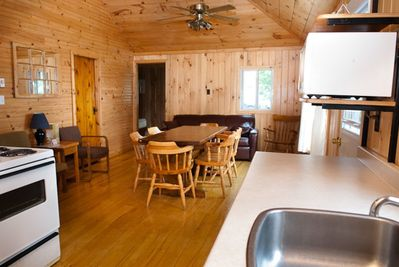 Rustic Cottages with Large Kitchens, 3 Piece Bath, Large Living Area