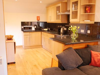 Photo for Bright, modern one bedroom flat in the centre of Kirkwall, Orkney