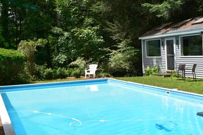 Your private pool and house