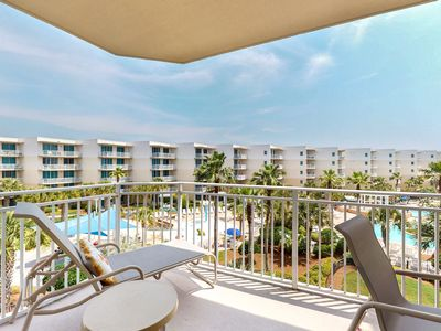 Photo for 5th Floor Lovely Spacious Condo At Waterscape! Waterfall, Lazy River