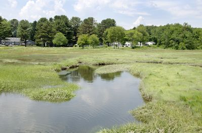Our Setting of Cottages Bordering the Quiet Salt Marsh