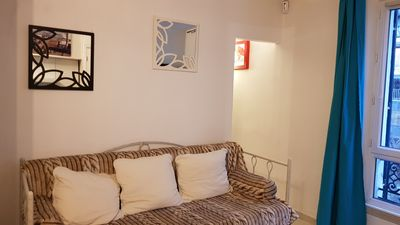 Photo for Studio 15 - perfect for a couple, near Porte de Versailles