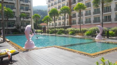 Photo for Phuket Patong Luxury 2Bedroom 2Bath Pool View