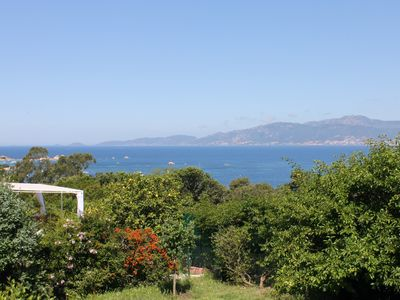 Photo for Small house with garden, panoramic sea, Porticcio