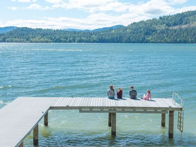 Photo for Blissful Lakefront Living Minutes From Dover Bay & Sandpoint