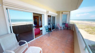 Photo for DeSoto Beach Club Unit 210 - Ocean Front - Swimming Pool - FREE Wi-Fi