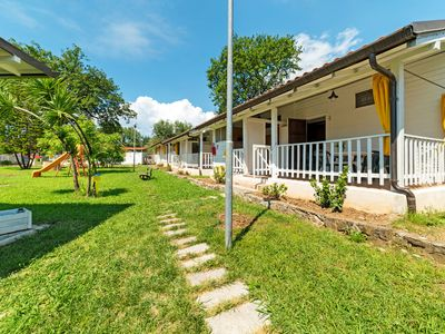 Photo for Lovely Chalet in Villammare with Private Terrace & Garden