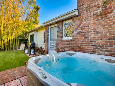 Photo for 35% OFF JUN - Charming Cottage w/ Private Jacuzzi & Walk to Beach