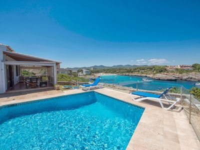 Photo for Villa facing the beach of Cala Marçal