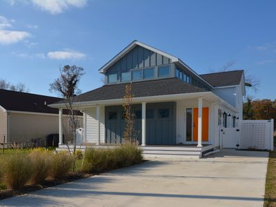 Photo for BRAND NEW AND MODERN HOME! Beautiful 4BR Beach Home Quick walk or bike to Beach!