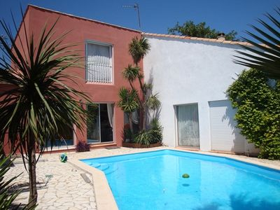 Photo for Montpellier and sea, beautiful villa for 16 people with swimming pool