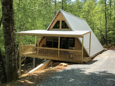 Photo for Family Mountain Getaway - 2 BR/2 BA  Secluded Cabin Easy Access with WIFI
