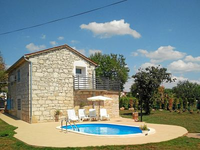 Photo for Istrian stone house with pool for 6 persons