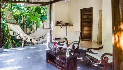 Honeymoon Bungalow in Banana Beach with AC, High Speed Wifi, Kitchen, Patio