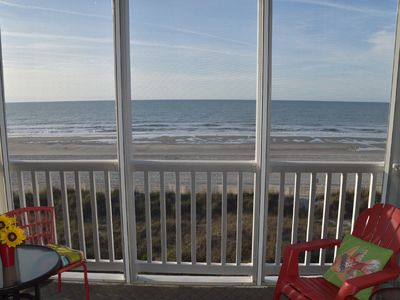 Photo for ** Ocean Front Condo ** Family Friendly ** Great Location **