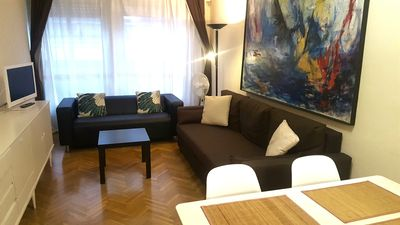 Photo for CITY CENTER WITH GARAGE, 2 BATHROOMS-WIFI-300Mb-VUT 47-21