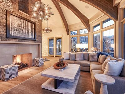 Photo for As Featured in Luxe Magazine - Ski-In/Ski-Out 5BR w/ Hot Tub & Stunning Views