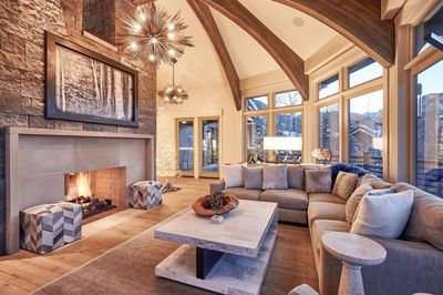 Living Area - Welcome to Aspen! This home is professionally managed by TurnKey Vacation Rentals.