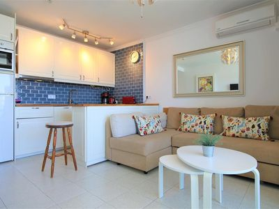 Photo for Modern apartment with Sea Views, AirCon and Pool, Next to the Yumbo Centre 10 mins walk to beach