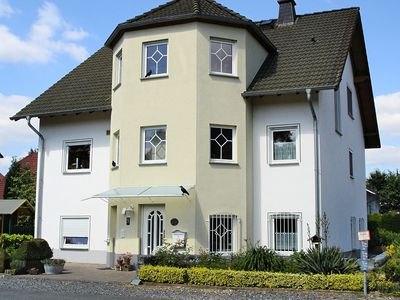 Photo for Ground-floor apartment in the beautiful Lahntal with terrace and separate entrance.