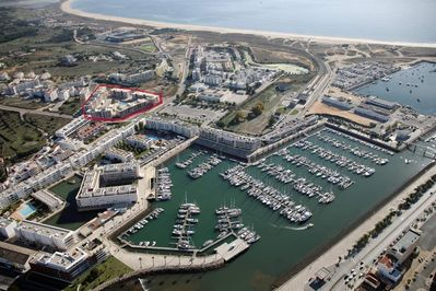 Fantastic location beside Marina and next to beach
