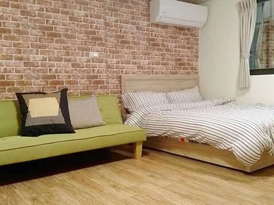 Photo for Double room 30sec to MRT station, Ruifang Night Market, Love River 1C