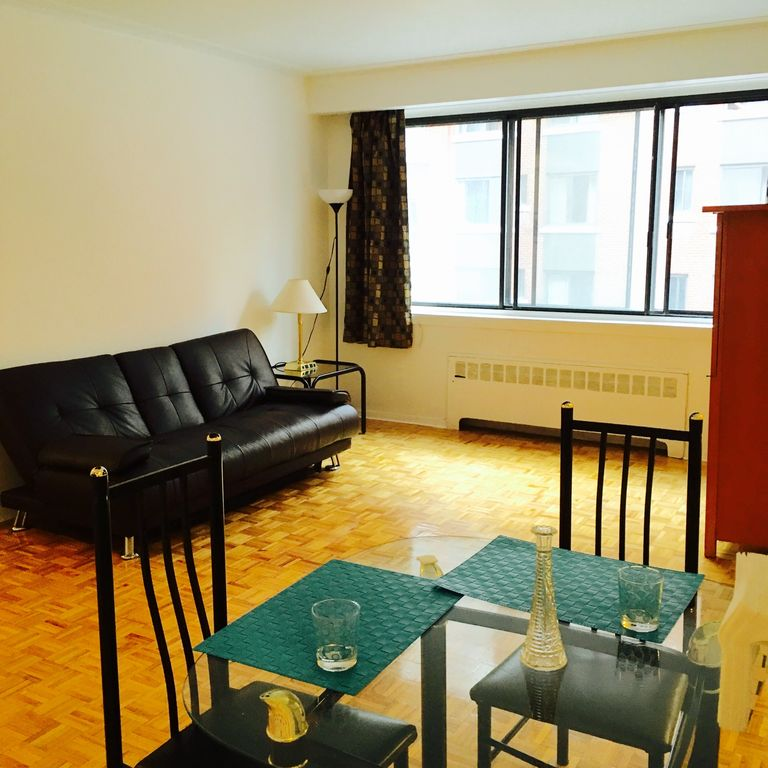 Studio Meuble A Montreal Of Centre Ville De Montr Al Appartement Enti Rement Meubl