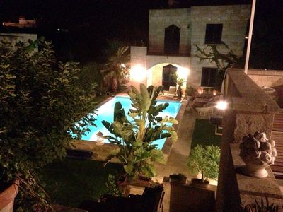 Photo for SALENTO VILLA WITH POOL, GARDEN, TERRACES, NEAR THE SEA OF CASTRO