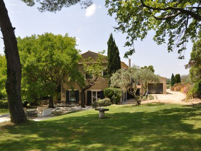 Photo for Charming 18th century Domaine, Park, Tennis and Pool, Vineyards, Billiard room