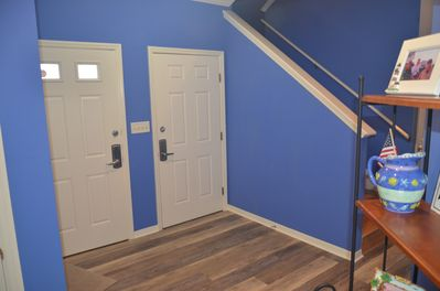 First floor entry area into our home
