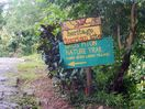 The Gros Piton trail is a short walk from the home