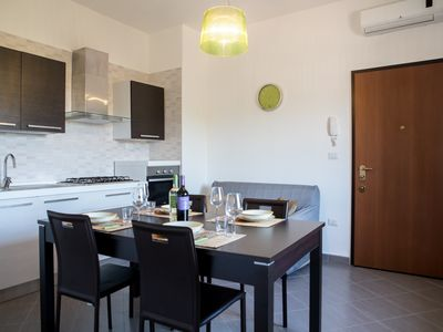 Photo for Two-room apartment 50 meters from the sandy beach, new, dishwasher