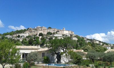 Photo for New house, bright, with private heated pool in the heart of Provence